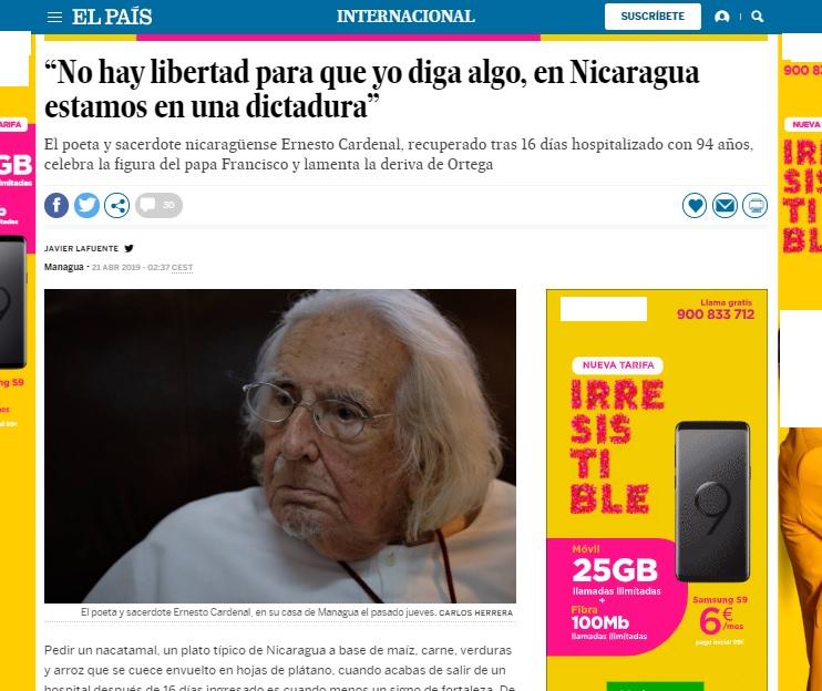 crisis de nicaragua 1