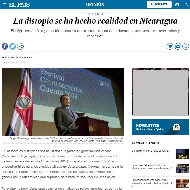 dictadura de nicaragua 2
