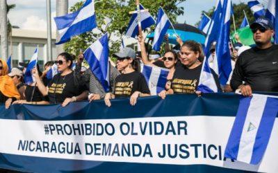 Represión en Nicaragua: presos amnistiados mientras el infierno continúa